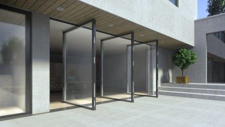 pivot deur