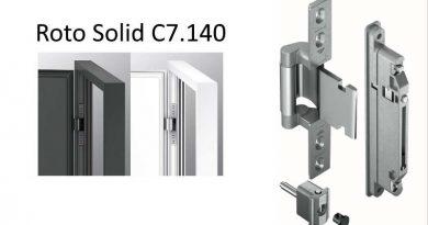 Roto Solid verborgen deurscharnier