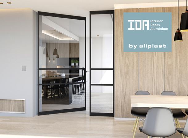 Ida aluminium binnendeuren