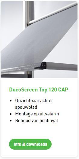 Duco screen Top 120 CAP