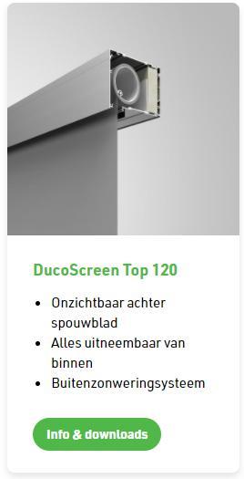 Duco screen Top 120