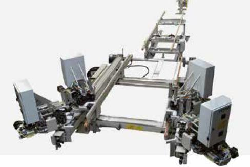 CNC gestuurde 4-kops hoekenpers