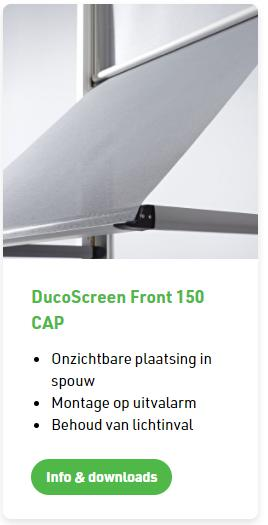 Duco screen Front 150 CAP