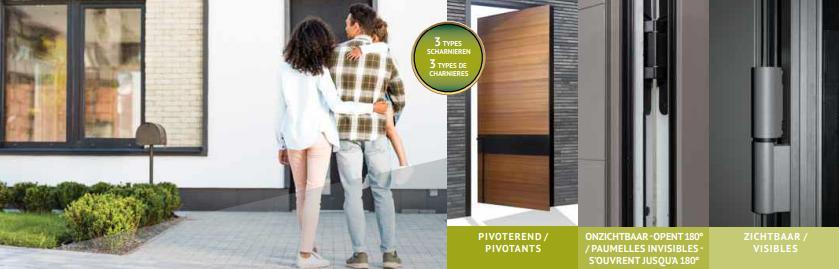 verdekliggende deurscharnieren
