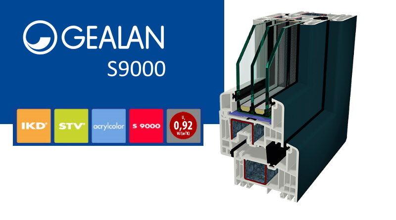 Gealan s9000 ramen en deuren in kunststof