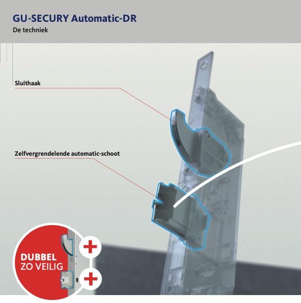 GU Secury automatic DR