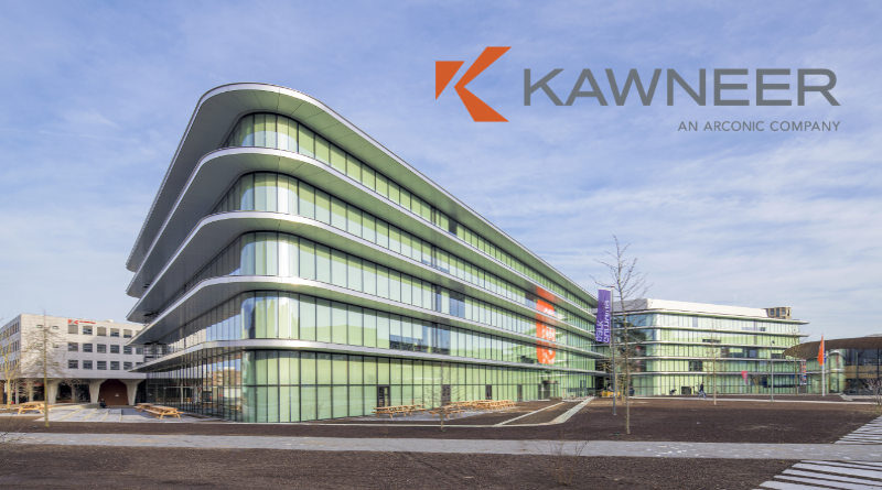 Kawneer aluminium ING Amsterdam