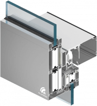 Aluprof brandwerend aluminium