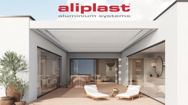 SOMNIUM – Aluminium terrasoverkapping Aliplast